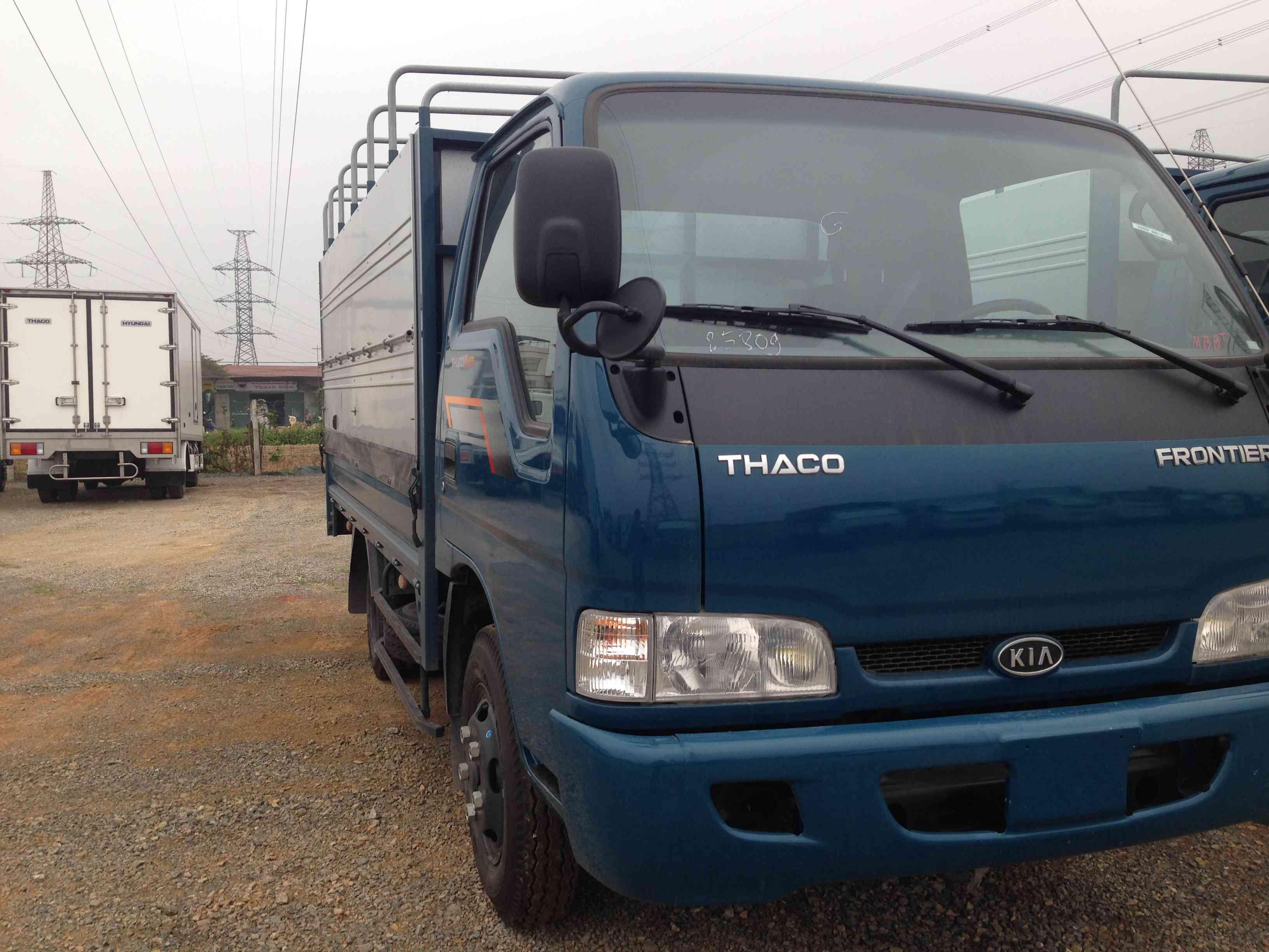 Thaco K165 tải trọng 2 tấn 4