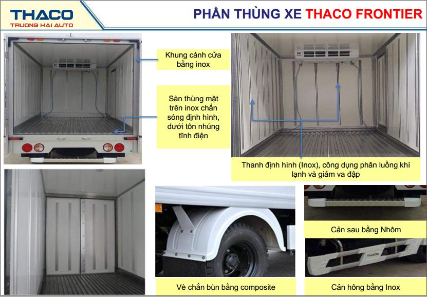 Thiết kế thùng xe K200 đông lạnh