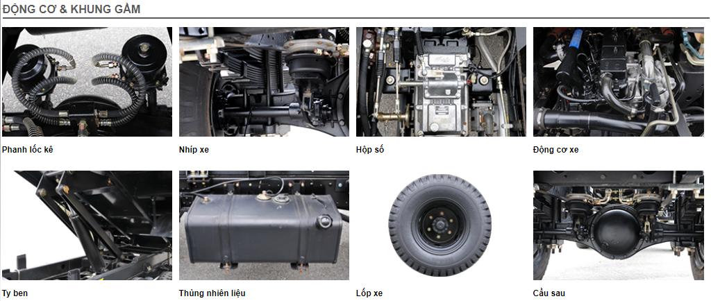 Động cơ khung gầm FLD 490C